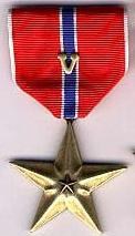 Bronze Star V for Valor